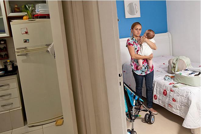 Licença-maternidade cai 62% com greve