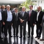 Centrais levam preocupações dos trabalhadores ao vice-presidente Michel Temer