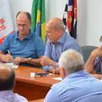 Roberto Santiago e dirigentes sindicais debatem reforma previdenciária