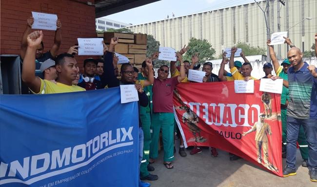 Com a ação pontual, sindicatos minimizam acúmulo de lixo no Ceagesp devido à paralisação de Grande Geradores
