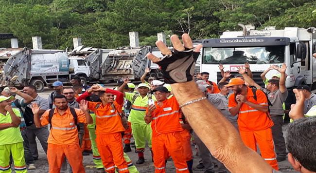 A diretoria do Siemaco Taboão, Cotia e Região, Realiza as Assembleias  no dia 29/01/2019,  com os trabalhadores da Limpeza Urbana das Cidades de Cotia, Embu das Artes e Taboão da Serra, para discussão e aprovação da negociação da campanha salarial 2019 da Limpeza Urbana.